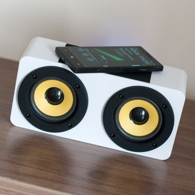 Induction Duo Speaker White 2