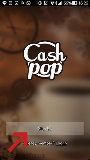 Pulsa Gratis Dari Cashpop 1