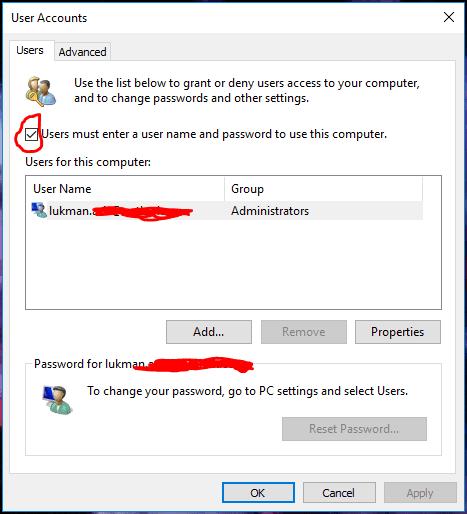 Masuk Secara Otomatis Ke Windows 10 2