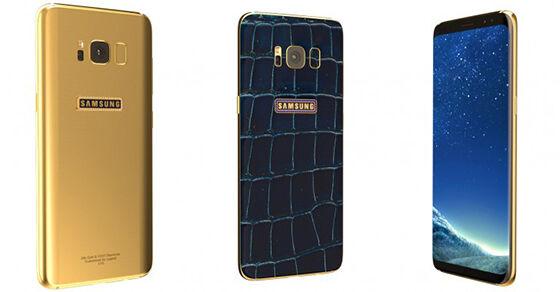 Samsung Galaxy S8 Emas 24k