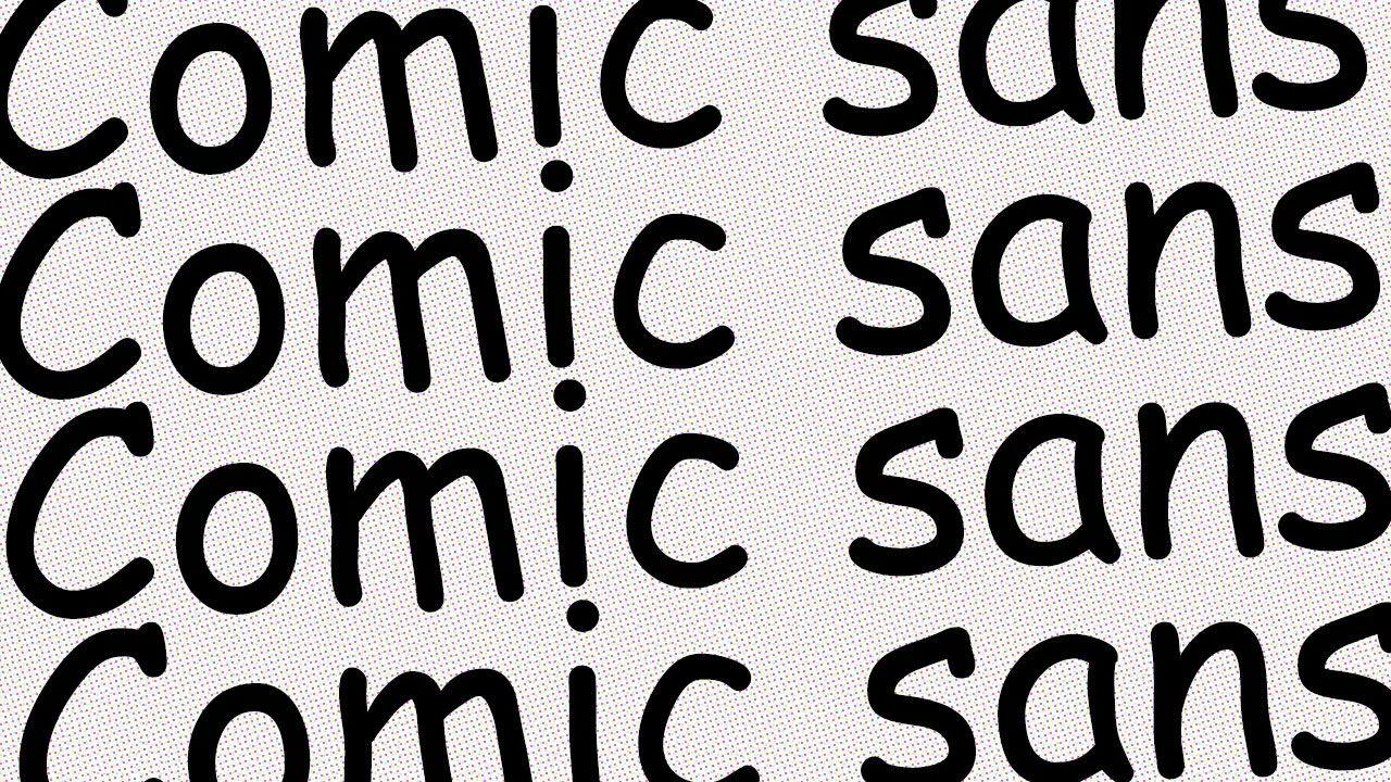 Comic Sans Us30