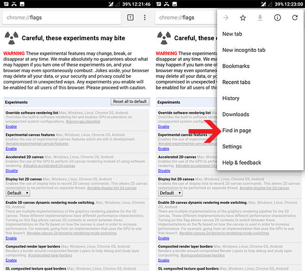 Cara Mengubah Posisi Adress Bar Chrome 1