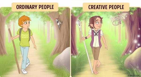 Perbedaan Orang Kreatif Dan Biasa 3