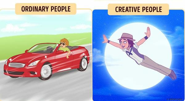 Perbedaan Orang Kreatif Dan Biasa 4