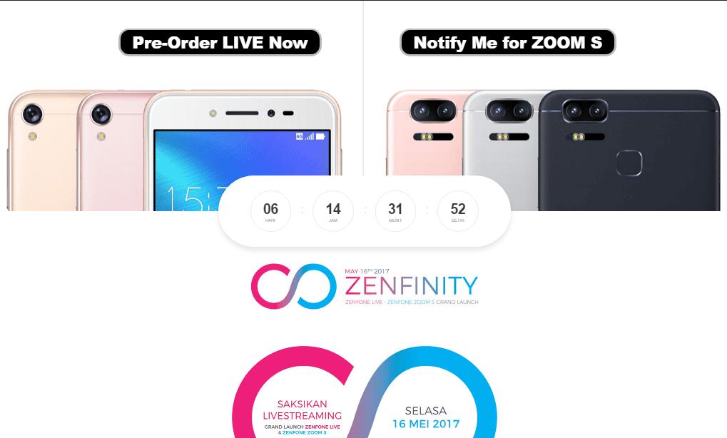 Asus Zenfone Live Dan Zenfone Zoom S