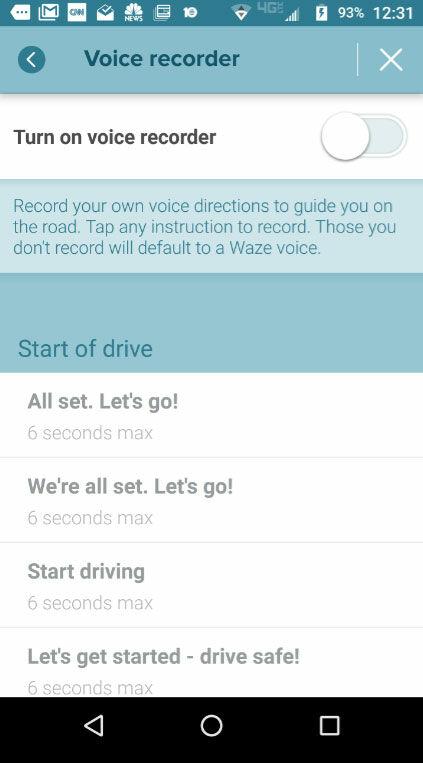 Cara Menggunakan Suara Sendiri Sebagai Petunjuk Arah Di Waze 3