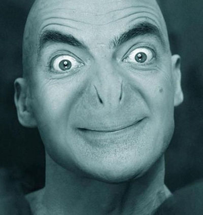 Foto Kocak Mr Bean 7