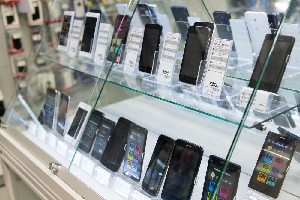 Pengiriman Smartphone Naik
