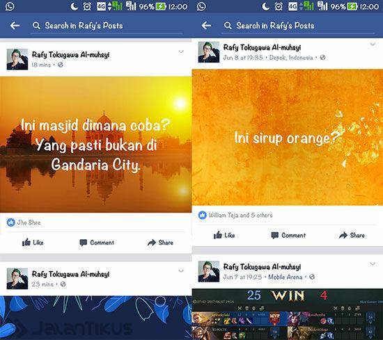 Cara Membuat Status Foto Di Facebook 5