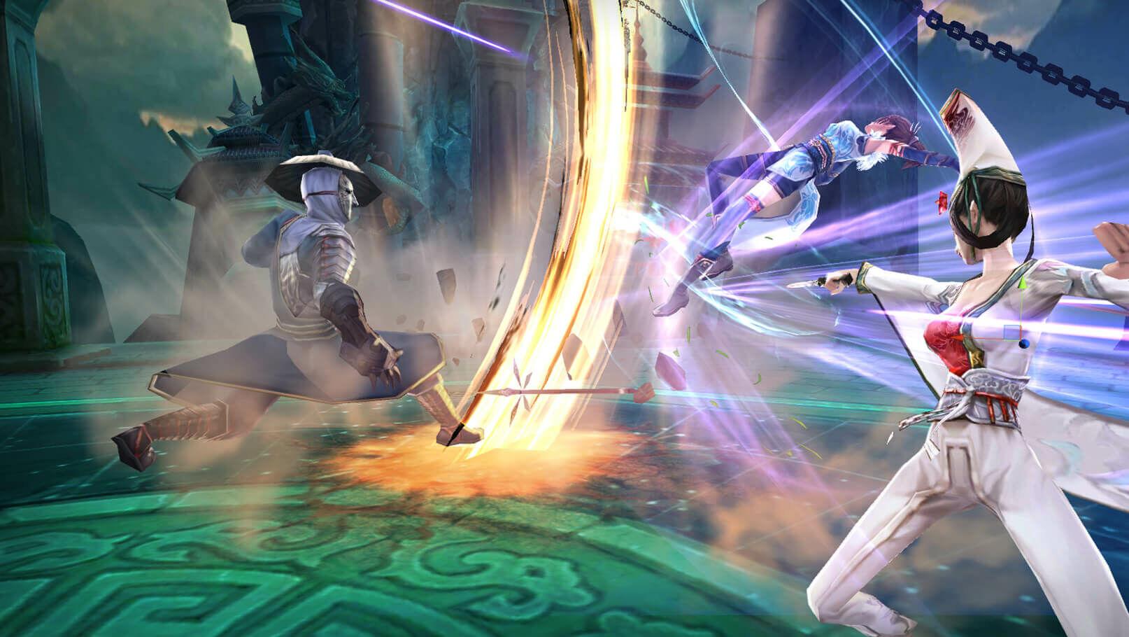 Game Bu Liang Ren Pedang Naga 1