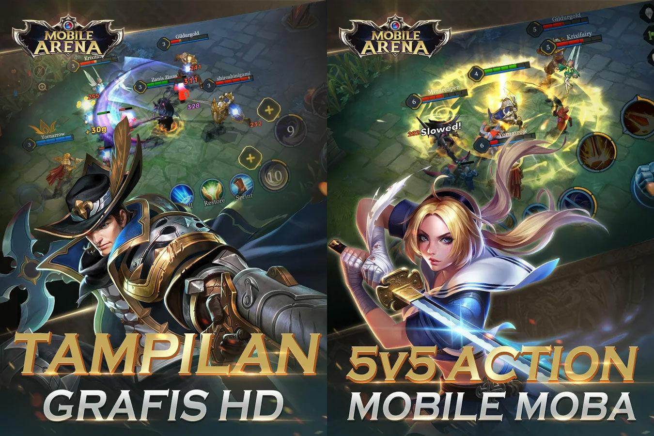 Mobile Arena Action Moba