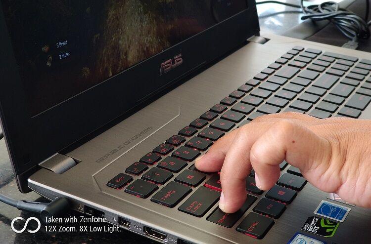 Hands On Asus Rog Strix Gl502vm 12
