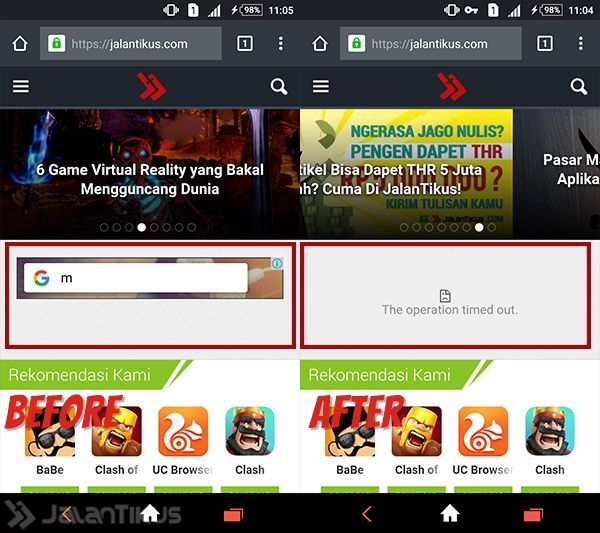 Cara Menghilangkan Iklan Di Android 5