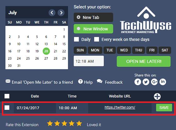 Cara Mengaktifkan Jadwal Untuk Buka Situs Secara Otomatis 4