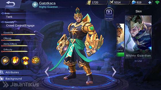 Guide Gatotkaca Mobile Legends 4