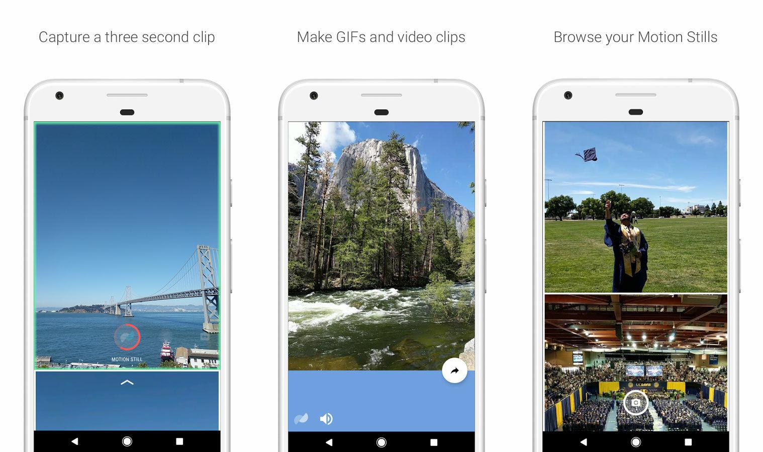 Google Motion Stills Android