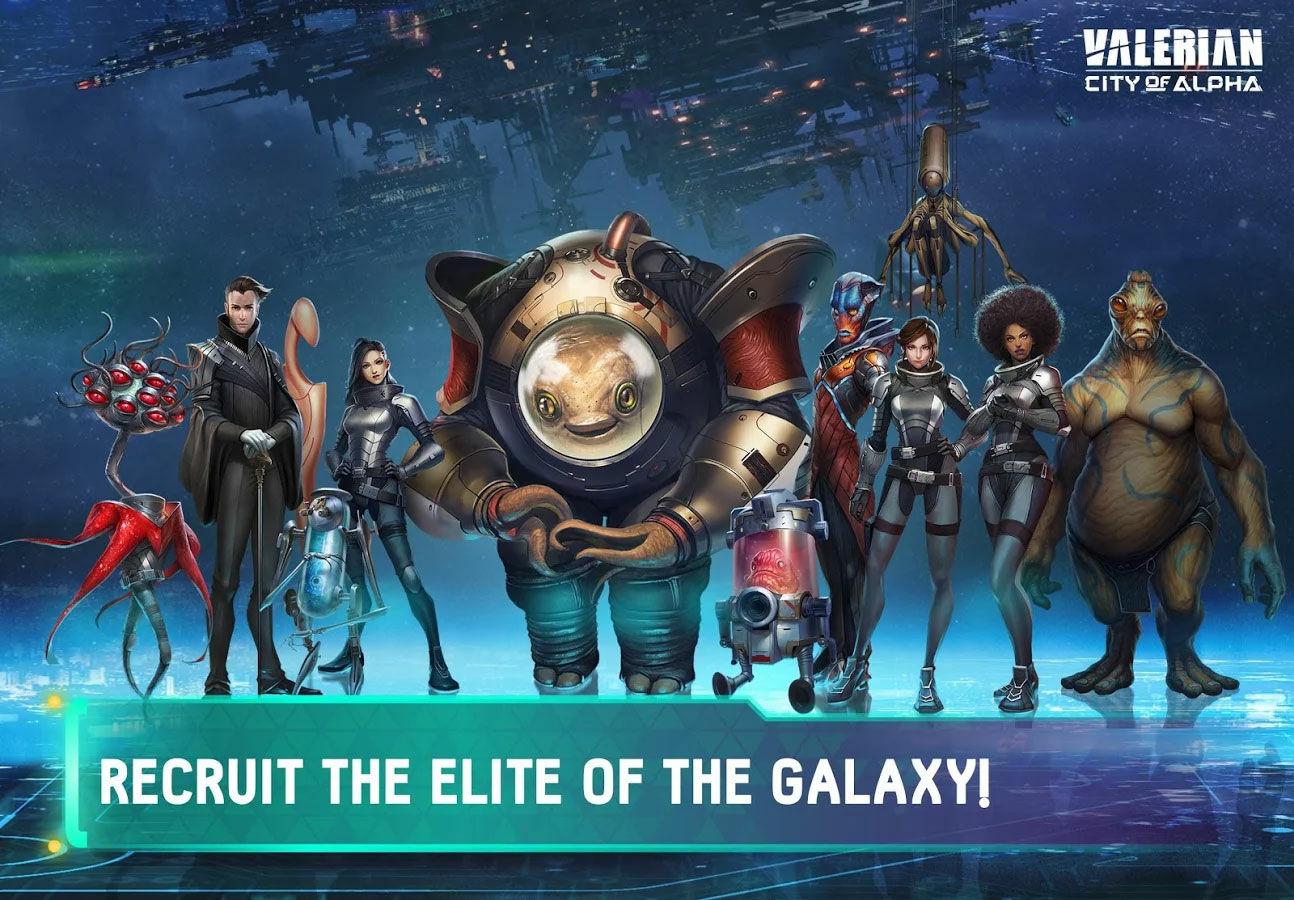 Game Android Terbaik Juli 2017 Valerian City Of Alpha