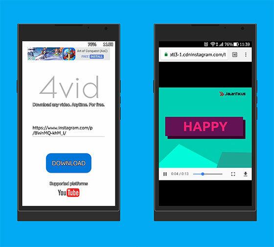 Aplikasi Android Terbaru Agustus 2017 4vid