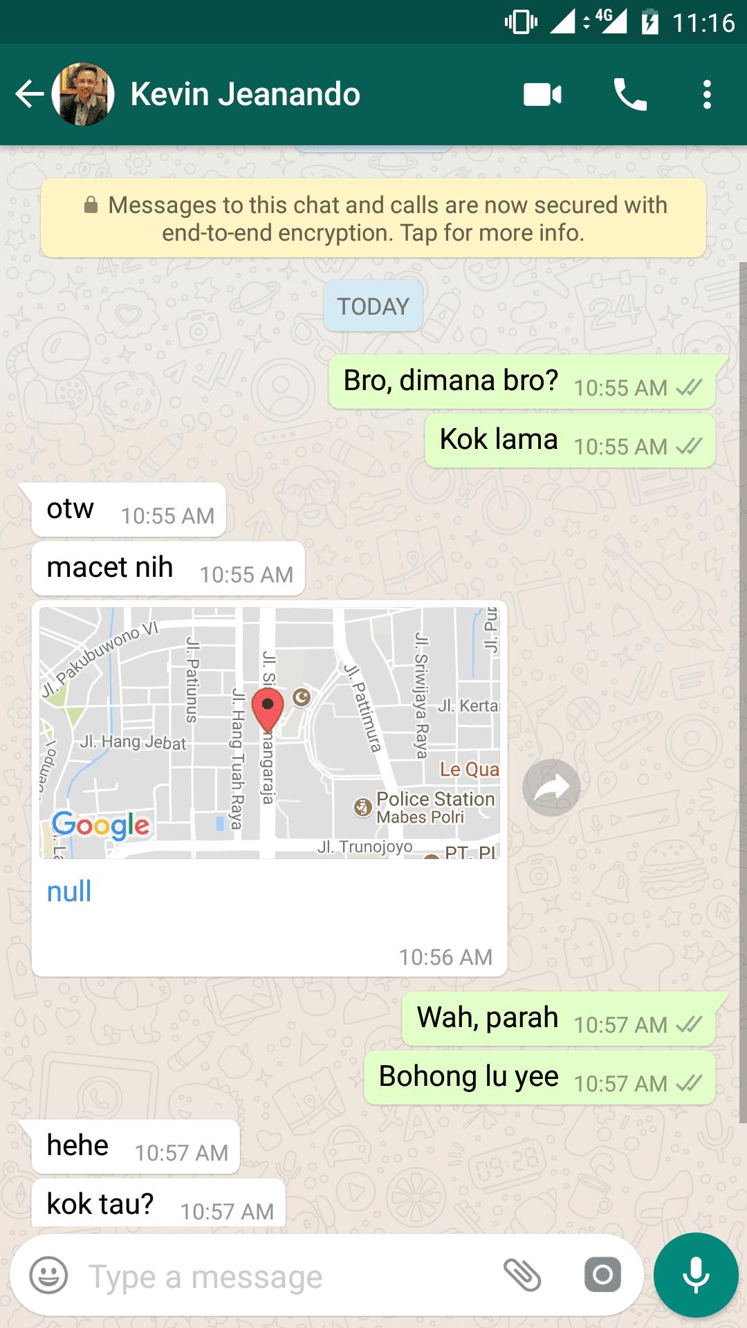 Cara Melacak Lokasi Palsu Di Whatsapp