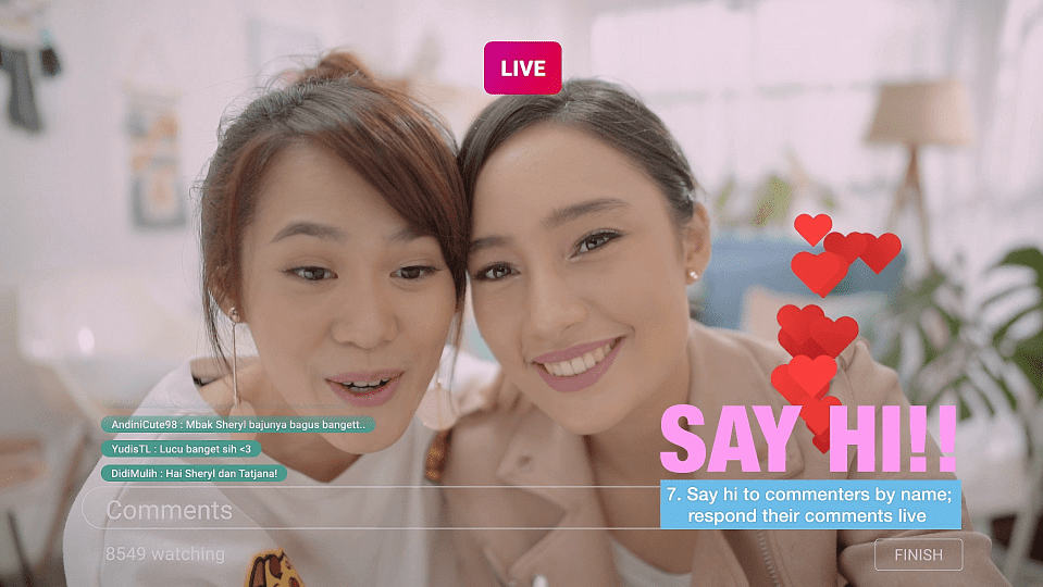 Tips Live Streaming 3