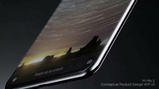 Desain Xiaomi Mi Mix 2 3