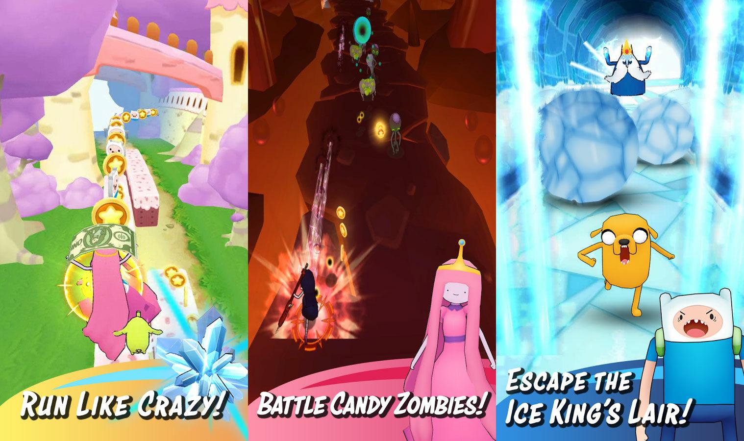 Game Android Terbaik Agustus 2017 Adventure Time Run