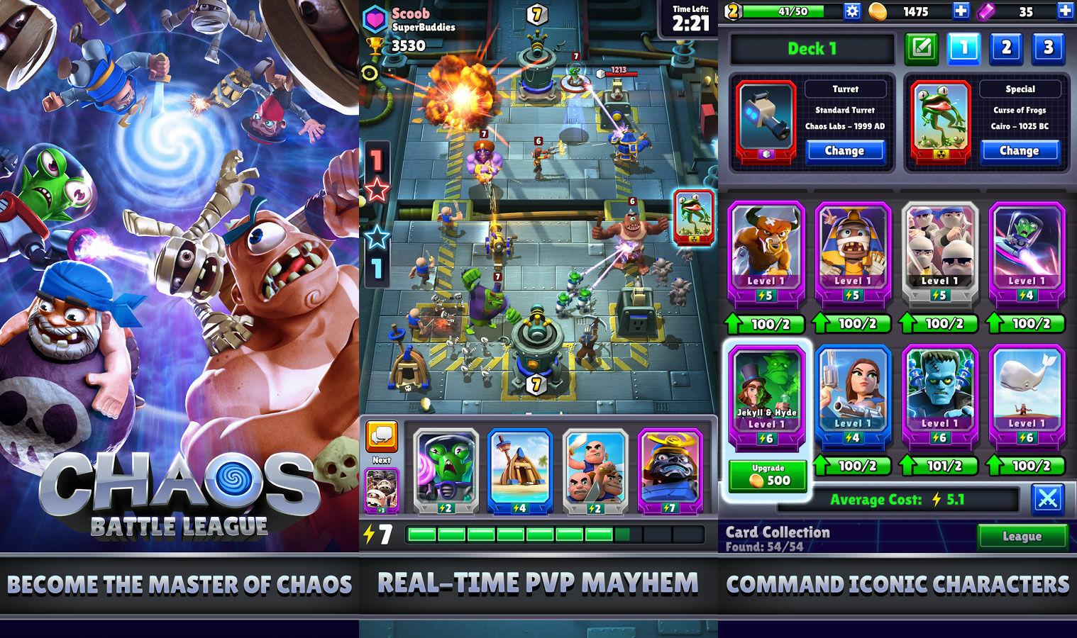 Game Android Terbaik Agustus 2017 Chaos Battle League