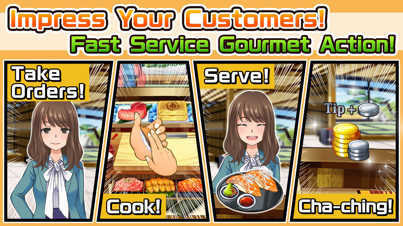 Game Android Terbaik Agustus 2017 Meshi Quest Five Star Kitchen