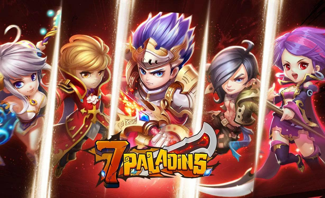 Game Android Terbaik Agustus 2017 Seven Paladins Id