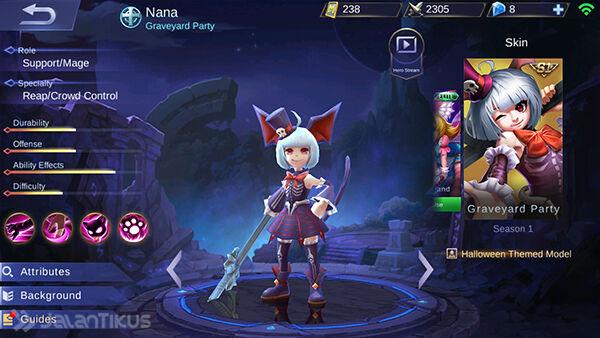Hero Support Mobile Legends 3