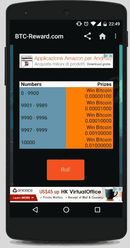 BTC Reward APK