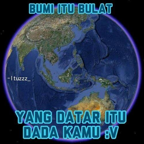 Meme Bumi Datar 2