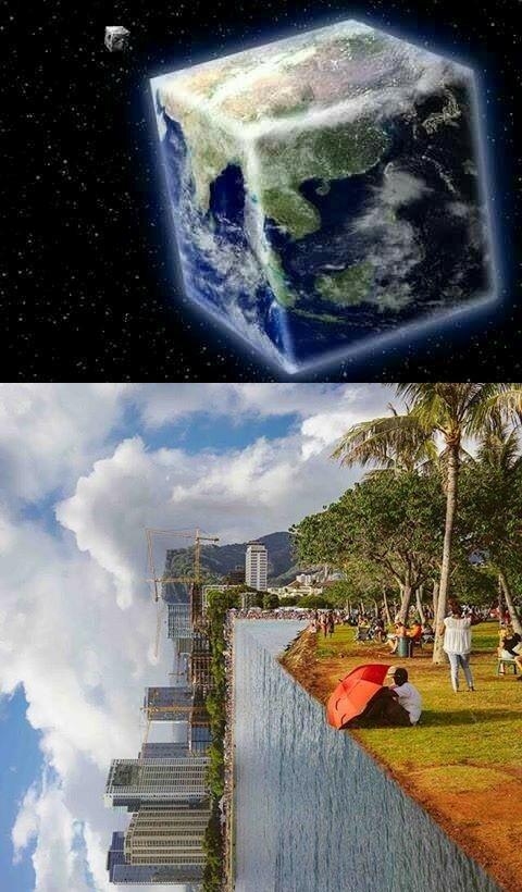 Meme Bumi Datar 3