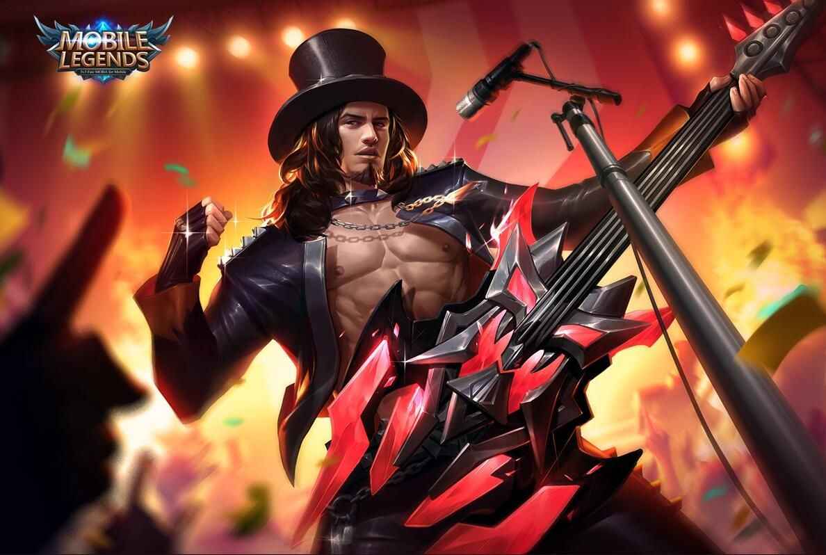 wallpaper mobile legends clint full metal