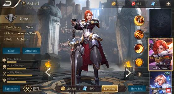 Hero Warrior Thane Arena Of Valor 02