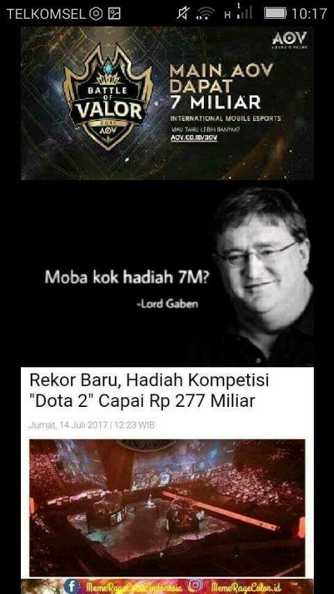 Meme Main Aov Dapat 7 Miliar 7