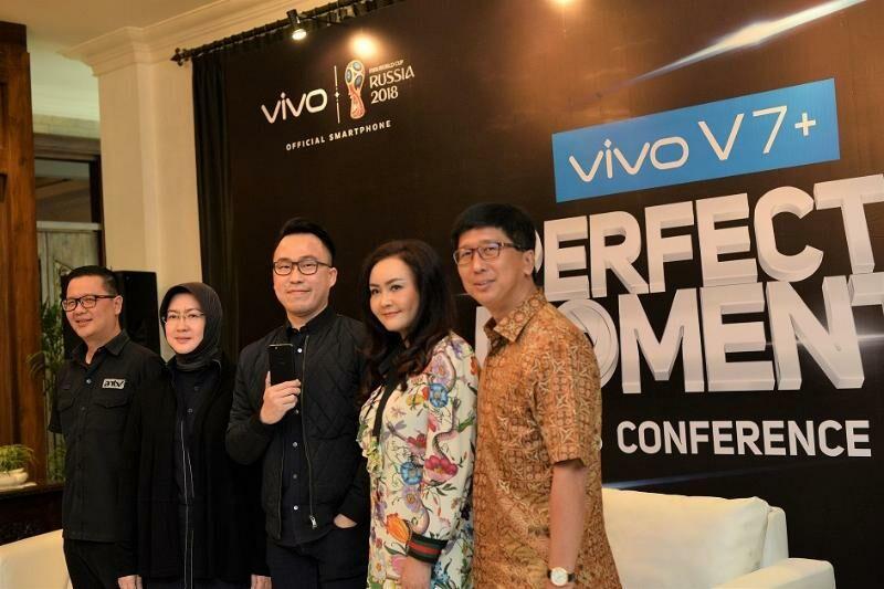 Smartphone Bezel Less Vivo V7 Indonesia 1