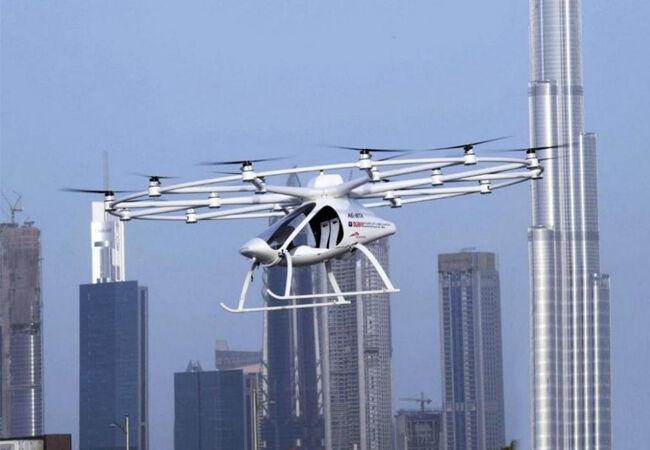 Volocopter Taksi Terbang Dubai