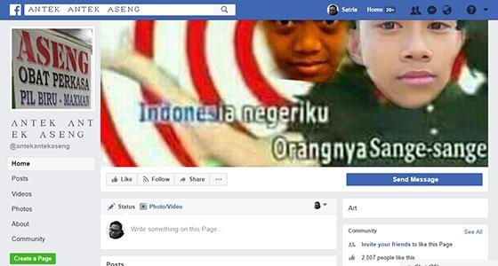 Fanpage Kocak Facebook 05