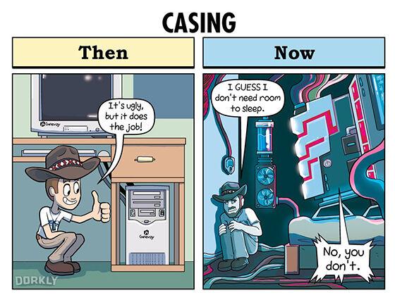 Ilustrasi Perbandingan Gamer Jadul Dan Jaman Now 01