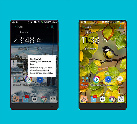 Review Microsoft Launcher 4