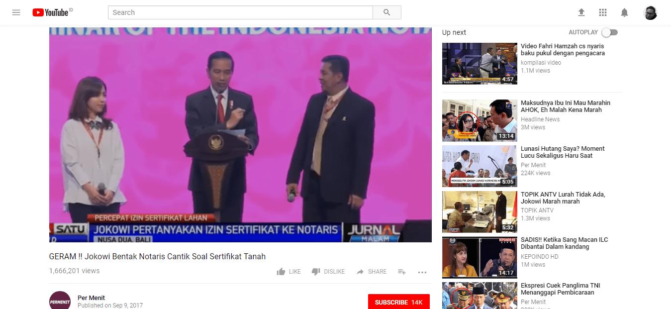 Video Tidak Bermanfaat Youtube Trending Indonesia 05