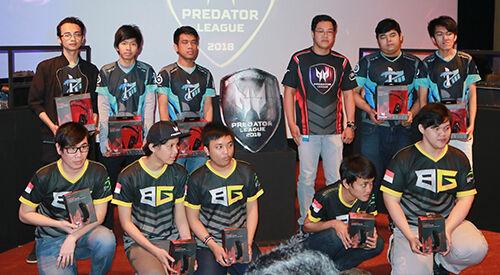 Peresmian Turnamen Predator League 2018 2ok