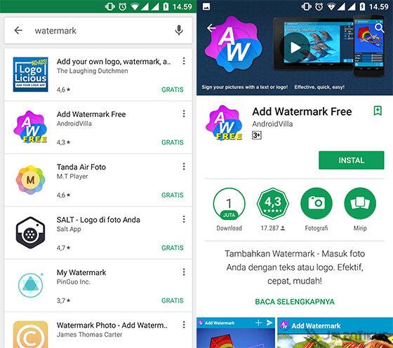 Cara Mudah Membuat Watermark Gambar dan Foto di Android