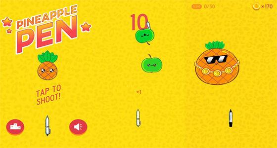 Pineapple Pen Game Android Dari Viral Sosial Media