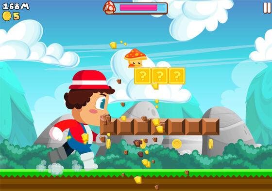Super Plumber Run Game Android Dari Viral Sosial Media