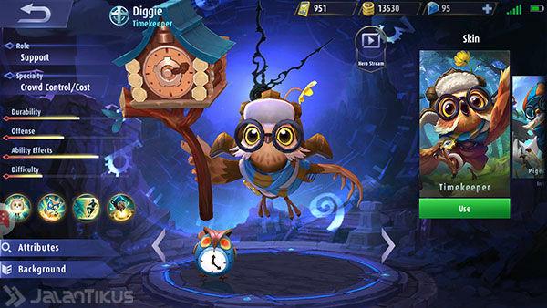 Guide Diggie Mobile Legends 2