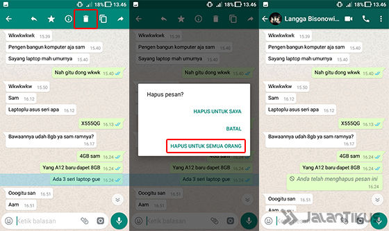 Cara Menghapus Pesan WhatsApp 04