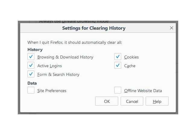 Cara Mudah Menghapus History Browser Firefox