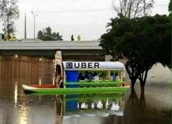 Foto Unik Taksi Online 08
